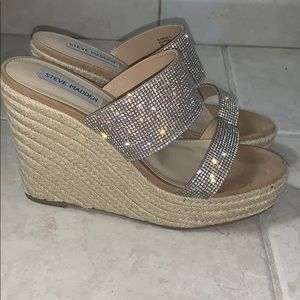 Glitzy wedges
